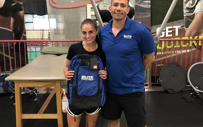 Gabrielle Delpico — September 2019 Athlete of the Month