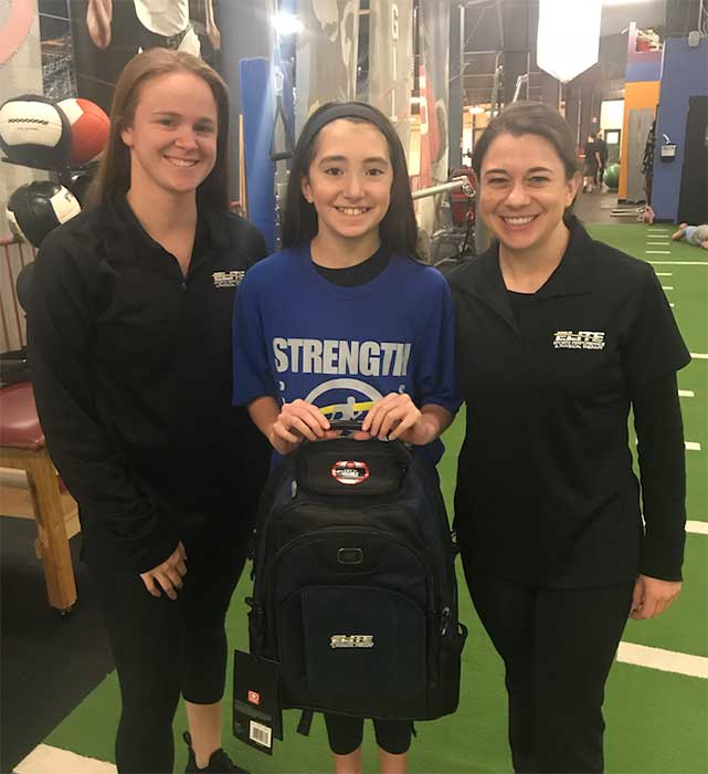 Emma Redding – November '18 Athlete of the Month
